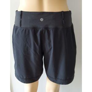 Lululemon Black Shorts Size 8 Medium
